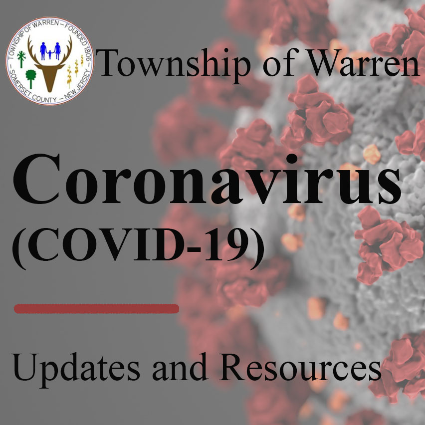 Warren Township Coronavirus Square Logo Light
